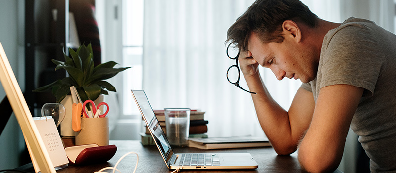 Where are the most financially stressed employees in the UK?