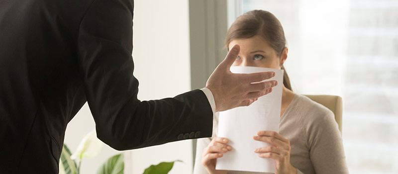 5 telltale signs you're about to be fired