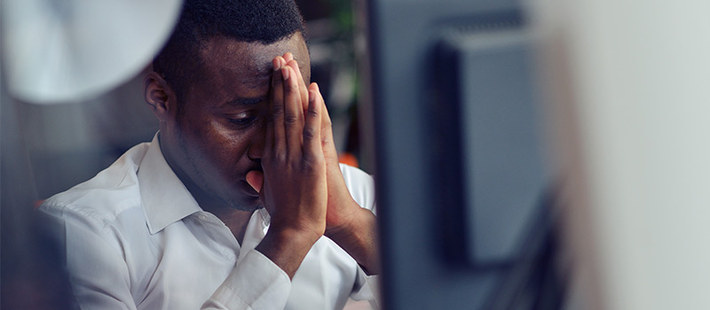 Why is recruitment one of the most stressed industries?