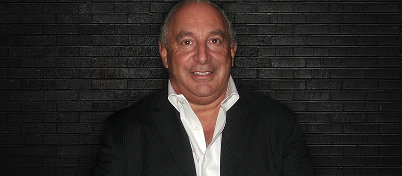 Sir Philip Green named as boss at centre of '#MeToo scandal'