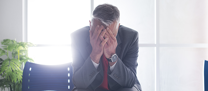 Which UK city has the most stressed business owners?