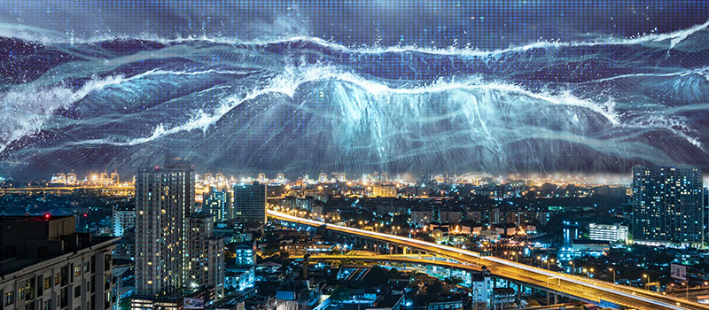 CEOs say technological change will hit 'like a tsunami'