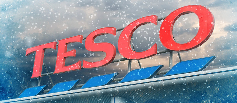 Every little helps? Tesco workers awarded £1.52 voucher for battling snow
