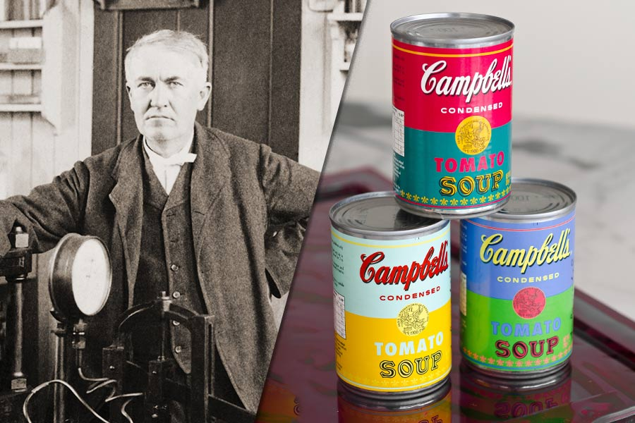 Thomas Edison's soup-er interview process…