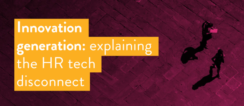 Innovation generation: explaining the HR tech disconnect