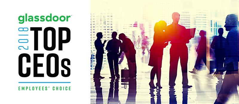 Recruitment boss comes 8th in Glassdoor's UK Top 50 CEOs list