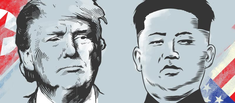 Timeline of Trump & Kim's love-hate relationship