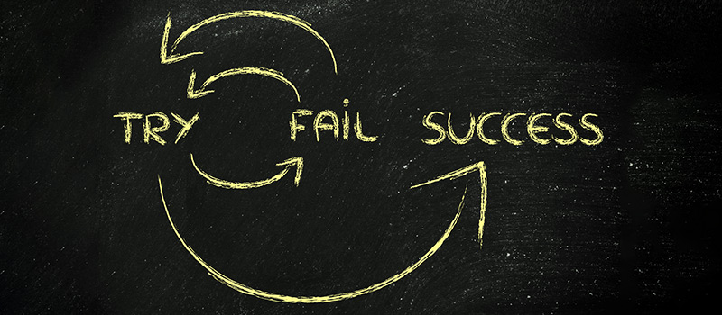 The power of learning from failure