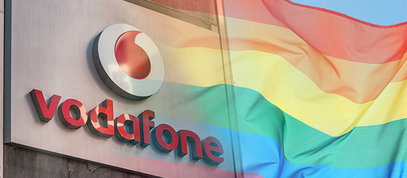 Vodafone launches new recruitment programme to attract LGBT+ talent