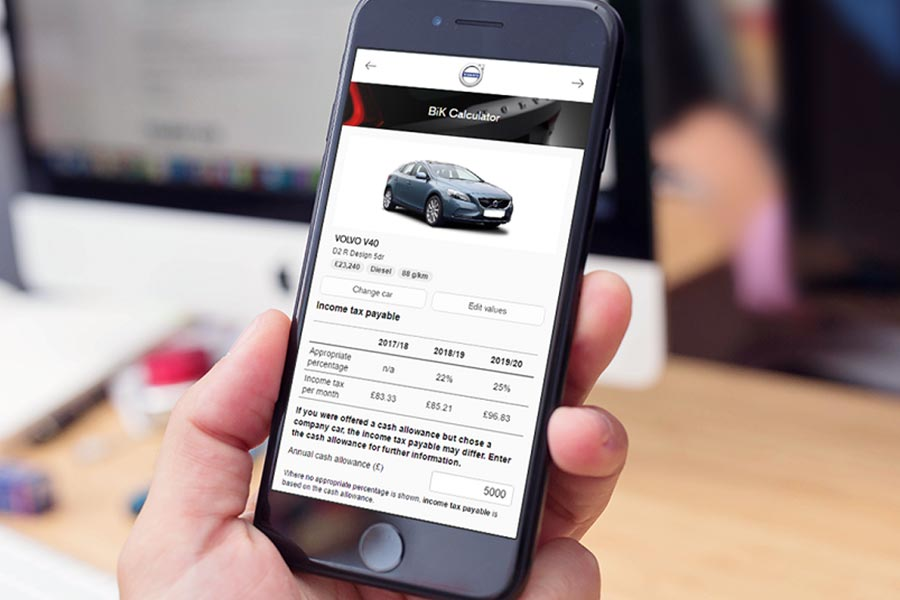Volvo Car Uk Launches Fleet Friendly Tax Web App