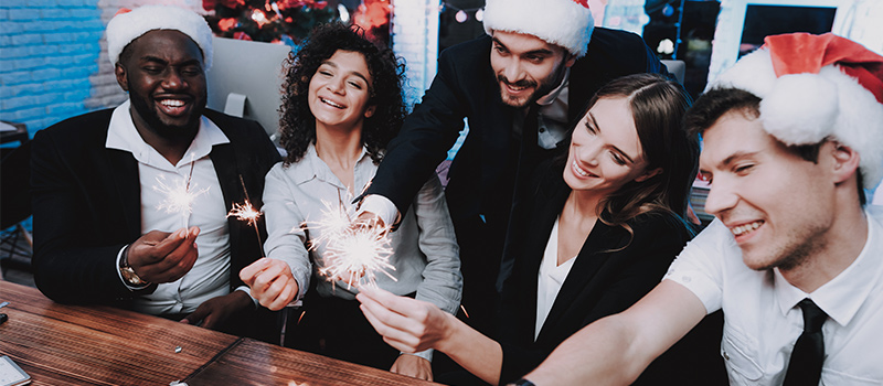 Are these the WEIRDEST office Christmas party ideas?
