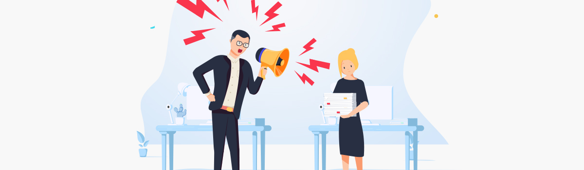 What to do when your boss yells at you