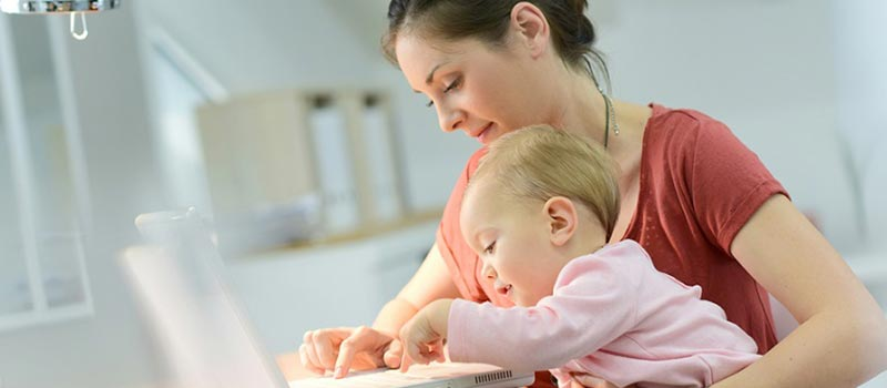 What can you do to help mothers get back into the workplace?