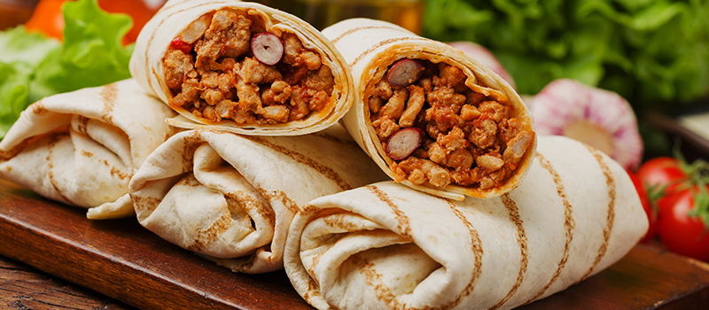 BURRITO-GATE: Restaurant employee hurls food at boss after rota argument