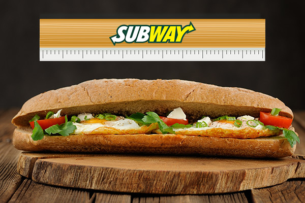 Subway workers could be fired for selling subs shorter than 1 foot
