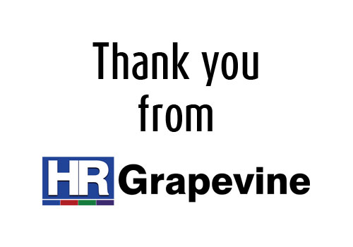 A huge thank you from HR Grapevine