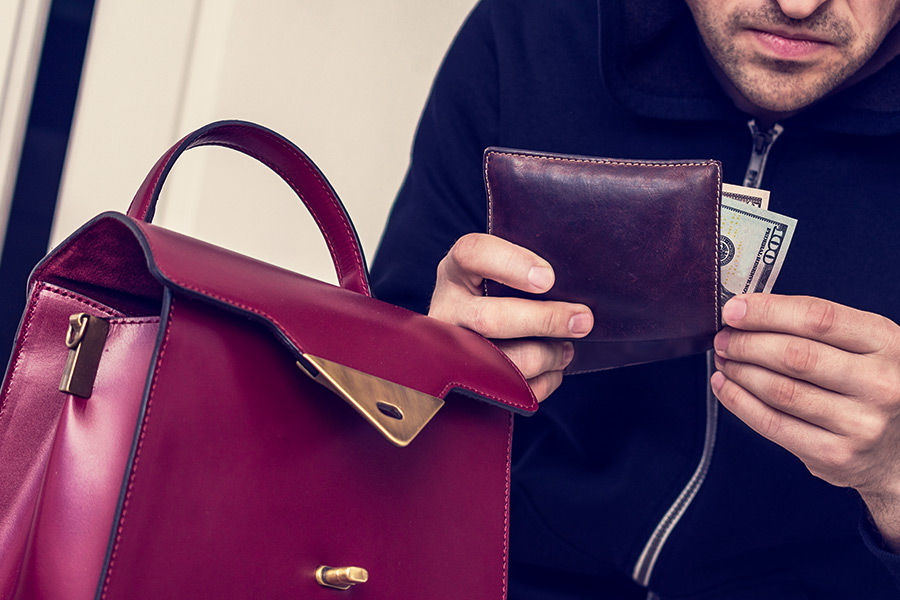 1 in 7 workers have had belongings stolen by a colleague