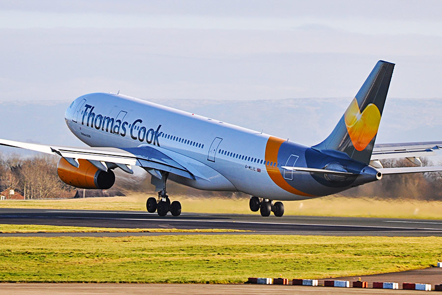 What will happen to the staff at Thomas Cook?
