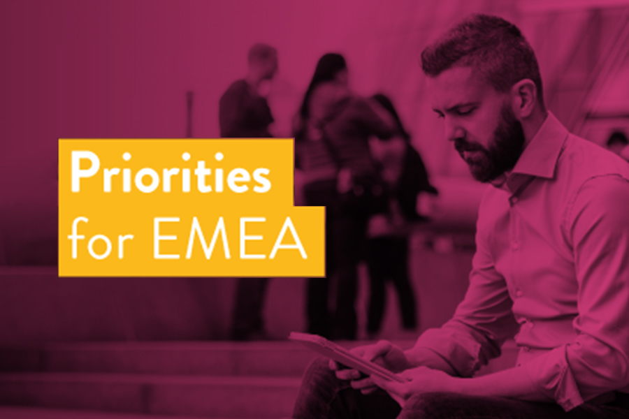 Innovation generation: Priorities for EMEA