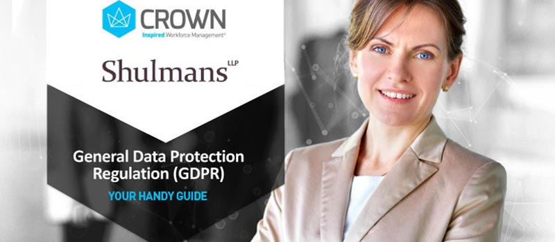 Get GDPR-ready with a free handy guide from Crown & Shulmans