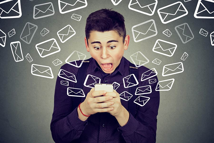 Drowning in emails whilst chasing sign-off?