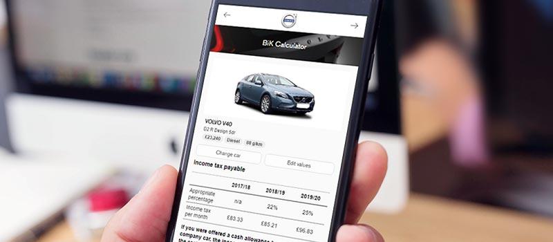 Volvo Car UK launches fleet-friendly tax web app