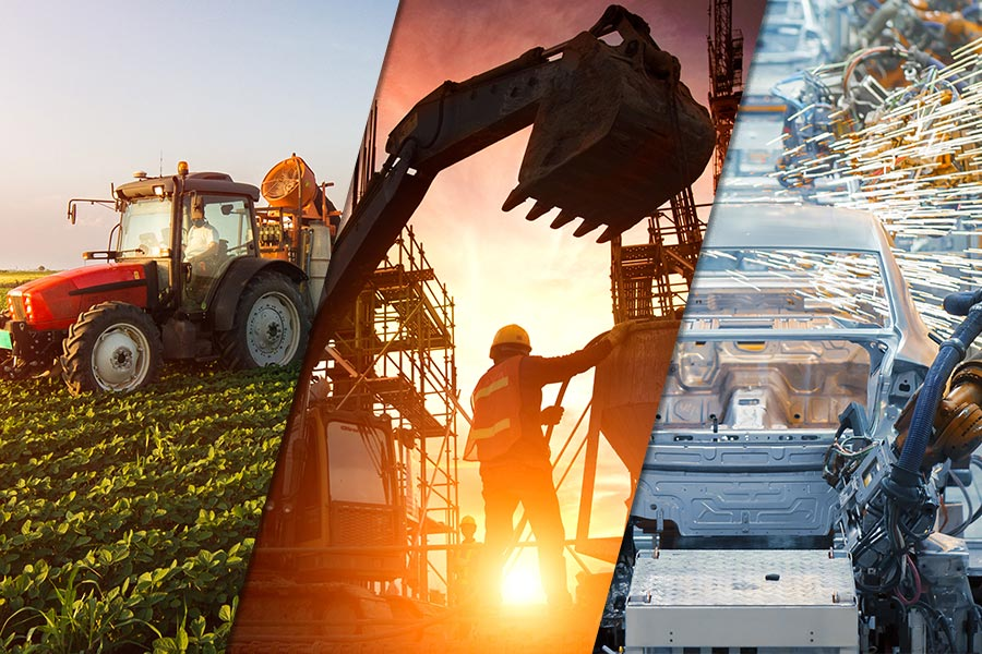 10 sectors experiencing biggest jump in applications