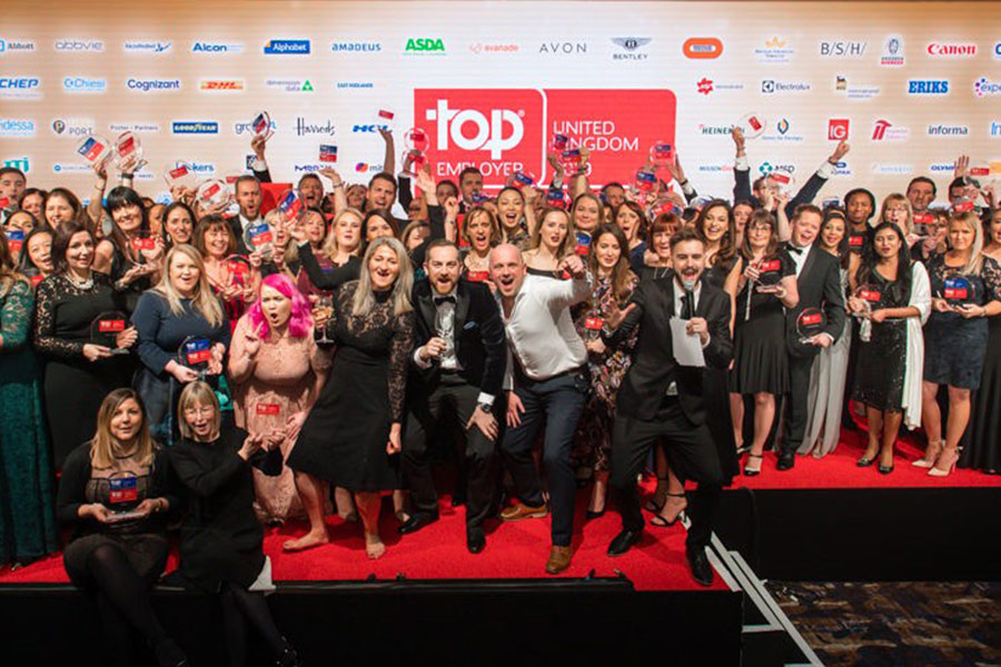 Did your organisation make the UK Top Employers 2019 list?