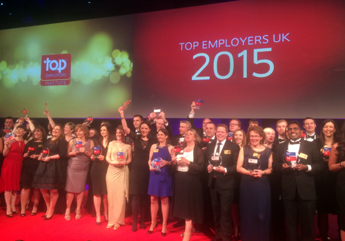 Top Employers 2015 announced