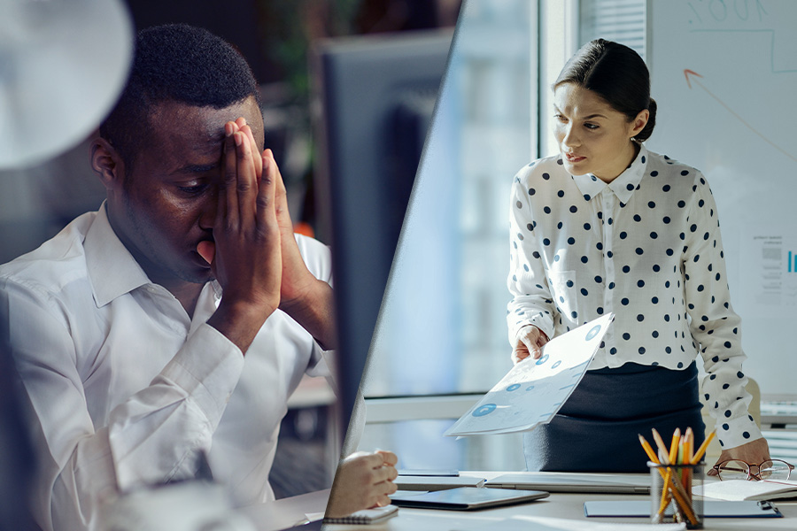 Almost 50% of UK staff say toxic work environments impact their mental health
