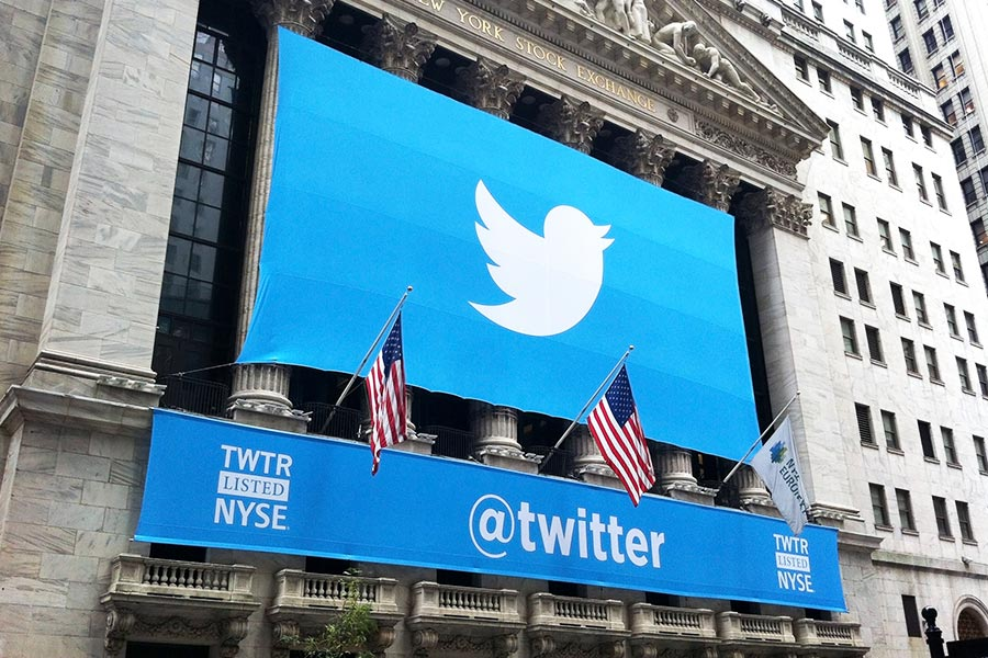 Twitter stocks jump after rumours of takeover