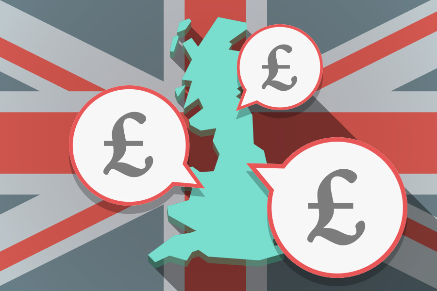 Where are the UK's highest paid towns and cities?