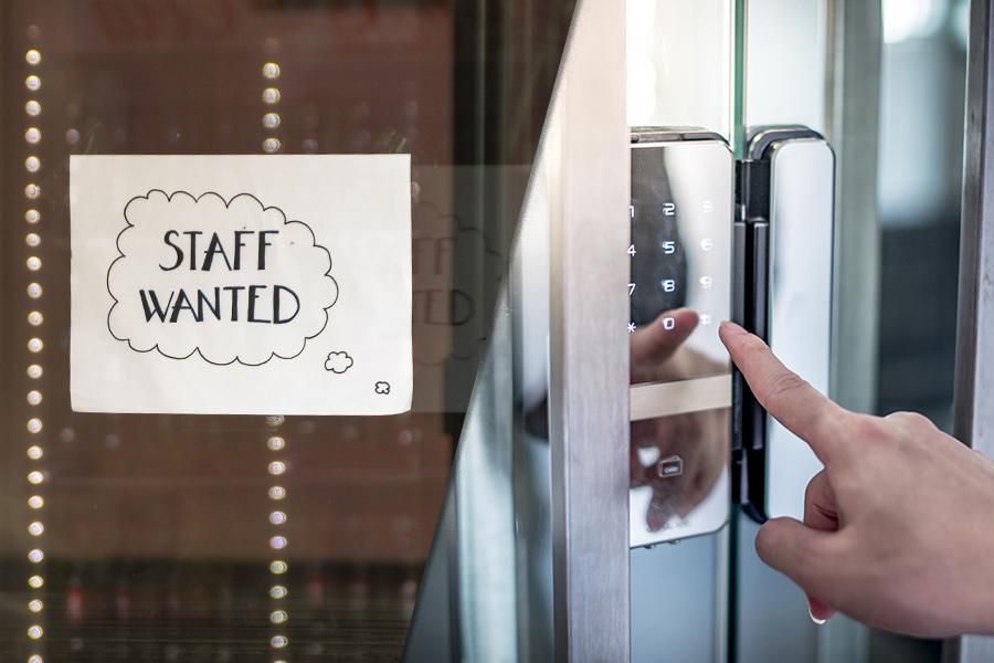 Job vacancies hit record high as 'hiring crisis' continues