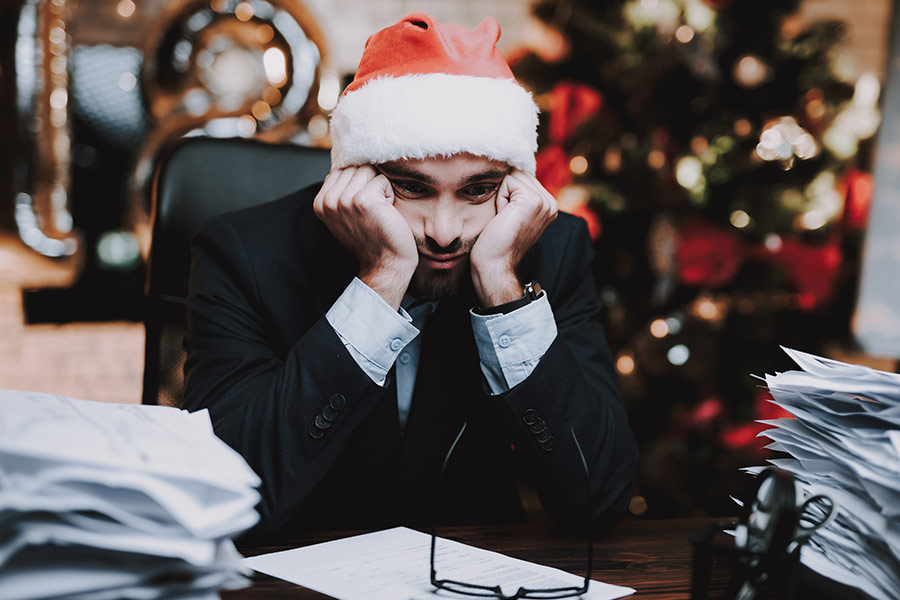 18% of UK staff don't get paid extra for working Christmas Day