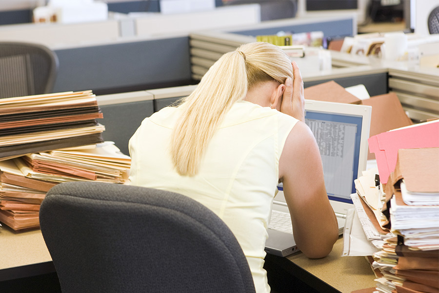 Brits spend over six years unhappy at work
