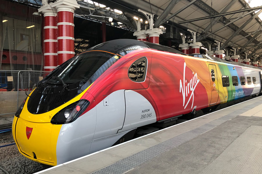Virgin Trains derails internet troll who queried firm's LGBT+ policy