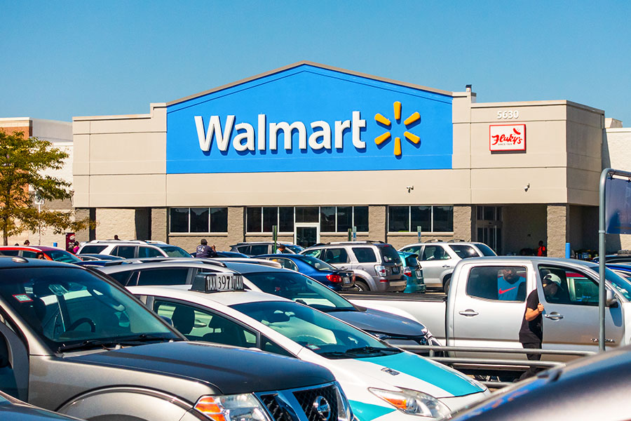 Walmart staff claim they're monitored out of work