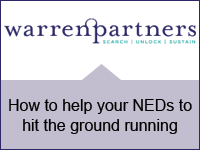 How to help your NEDs to hit the ground running