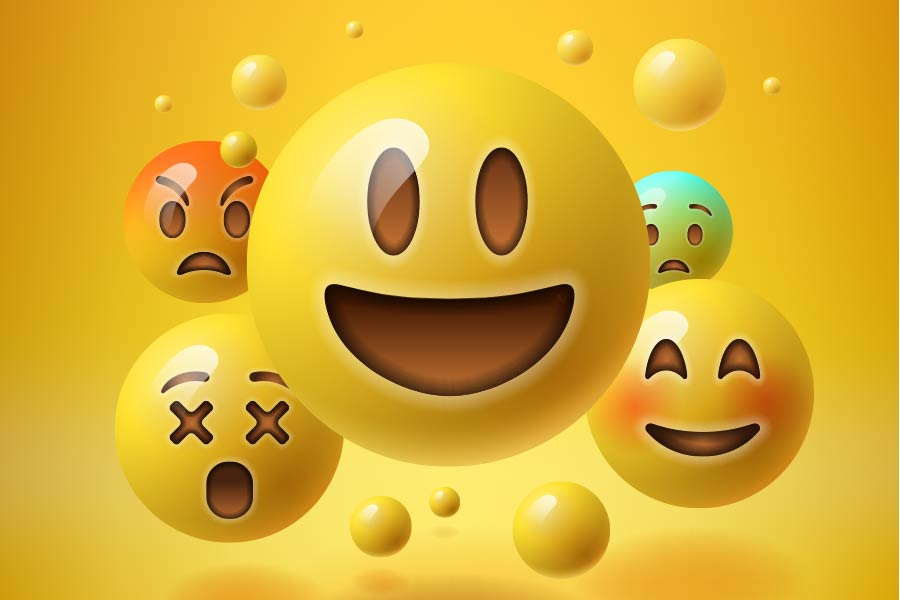 Should employees use emojis at work?