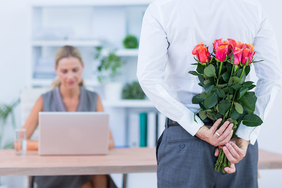 77% of staff don't consult HR before an office romance