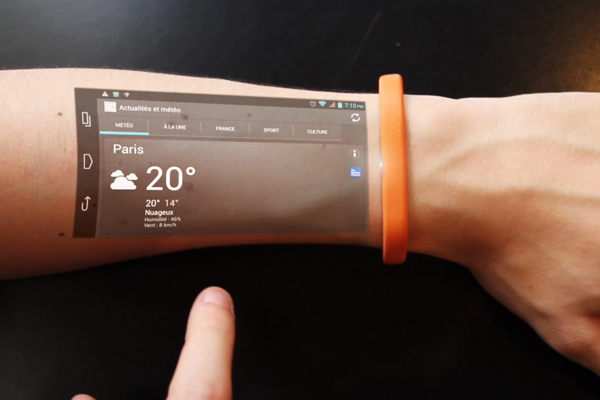 Technology to turn your skin into a touch screen