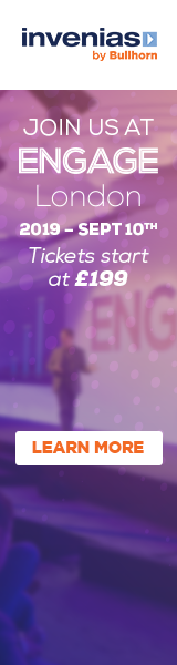 Invenias: Join us at Engage London on 10th September 2019