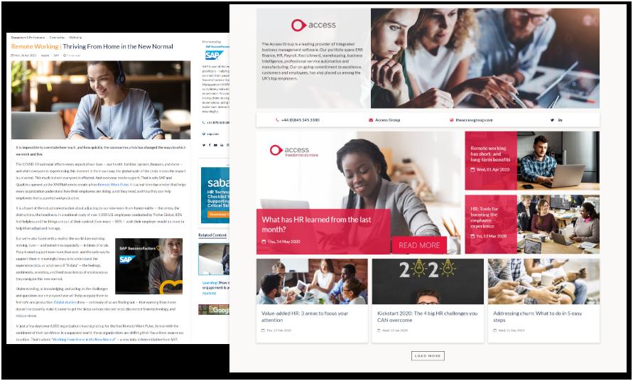 Content partnerships Showcase