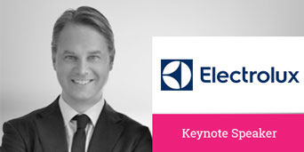 Lars Hygrell, SVP Marketing & Brands EMEA, Electrolux, Electrolux