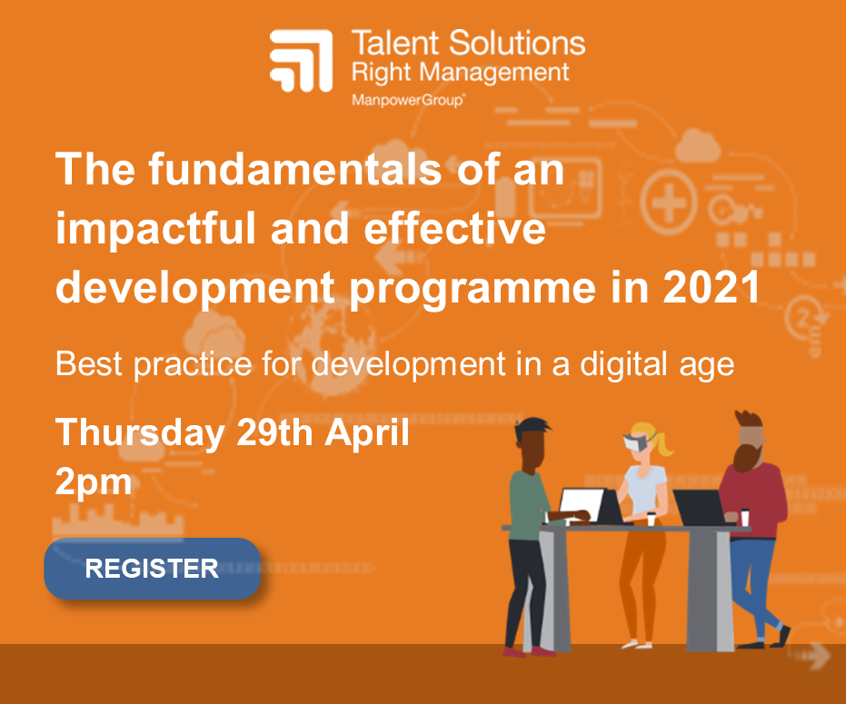 The fundamentals of an mpactful and effective development programme in 2021
