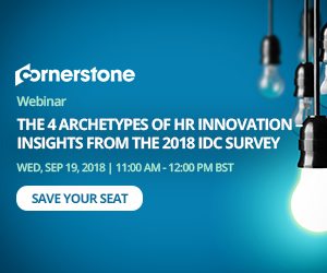 The 4 Archetypes of HR Innovation – Insights from the 2018 IDC Survey