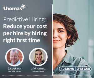 Predictive Hiring: Reduce your cost per hire by hiring right first time