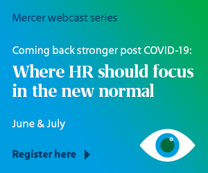 Coming back stronger post COVID-19: Where HR should focus in the new normal