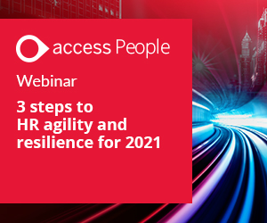3 steps to HR agility and resilience for 2021