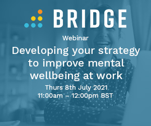 Developing your strategy to improve mental wellbeing at work
